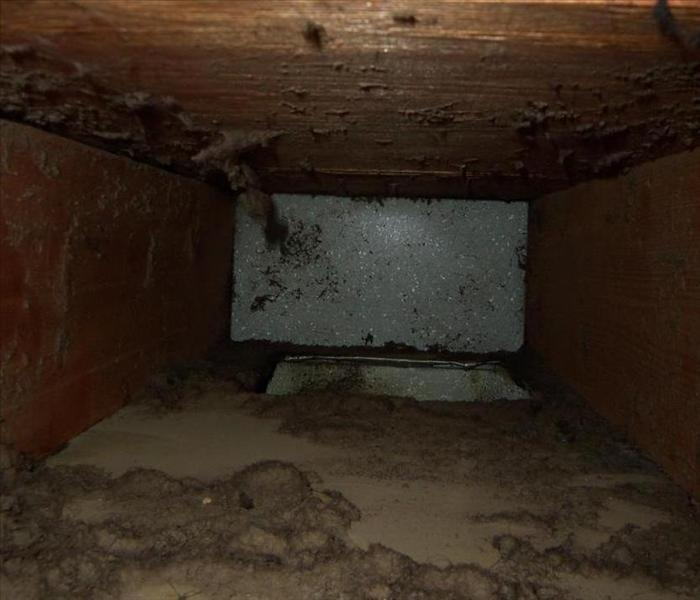 Duct Cleaning - Wareham, MA. Before