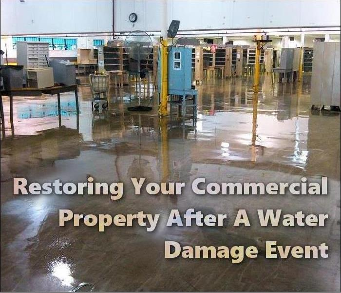 Commercial Restoring Your Plymouth/Wareham Commercial Property After A Water Damage Event