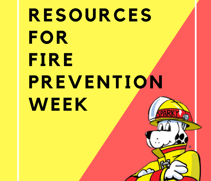 Fire Damage Fire Prevention Week is coming!