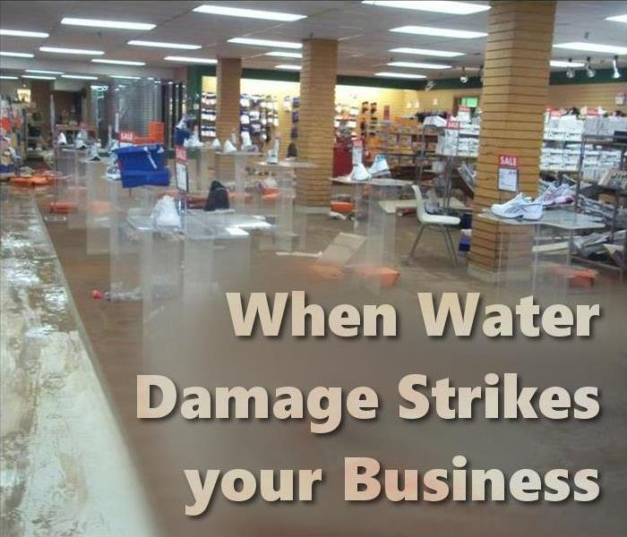 Commercial When Water Damage Strikes your Plymouth Business